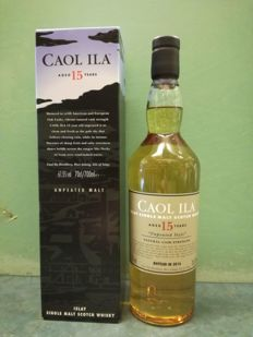 Caol Ila 15 years old 'Unpeated Style' 2016 bottling