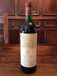 1993 Chateau Mouton Rothschild, Pauillac 1er Grand Cru Classé - 1 bottle (75cl)