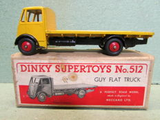 Dinky Supertoys - 1/48 scale - Guy Flat Truck No.512