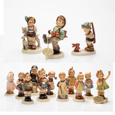 14 Original Goebel Hummel Figurines