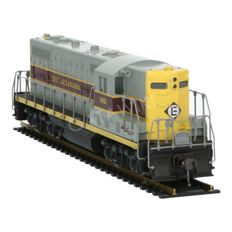 Atlas/Kato H0 - 8211 - Diesel locomotive GP-7 of the Erie Lackawanna