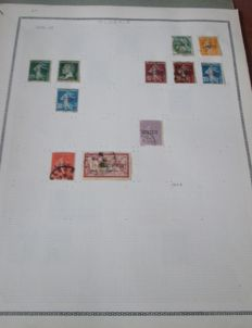 Algeria and Morocco – lot of stamps from 1910 to 1980