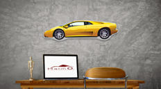 Halmo Collection Lamborghini Diablo plexiglass model