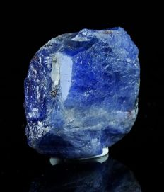 Rare Tanzanite Crystal - Excellent Shape - 3.2 x 2.8 x 1.4cm - 126.65ct / 25.34gm