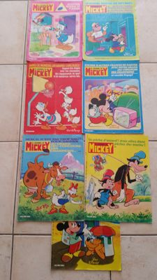 Journal de Mickey - 86 Volumes -  B - EO (1980/1983)