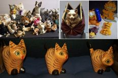 Cat Figurines - Jun Asilo - Francien - Jim Davis