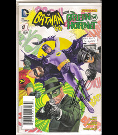 DC Comics / Dynamite Entertainment - Batman '66 Meets The Green Hornet #1 - Signed Limited Edition By Alex Ross - (2014)