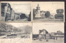 Belgium - Belgique - 153x; old and very old views of villages and cities