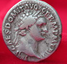 Roman Empire - Domitian (81-96). AR Denarius, Rome 92 RIC- Domit. 168