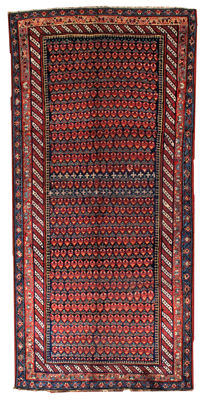 Hand made antique Persian Northwest Persian rug 4.9' x 10.4' ( 149cm x 317cm) 1880s