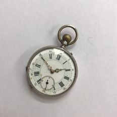 Pocket watch, signed Houriet on the case