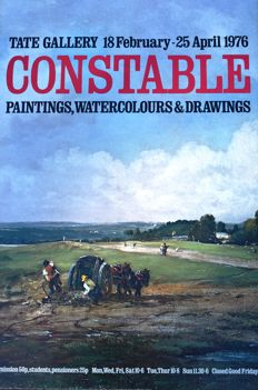 Constable and Turner (after) - Tate Gallery exhibition posters - 1976/1985