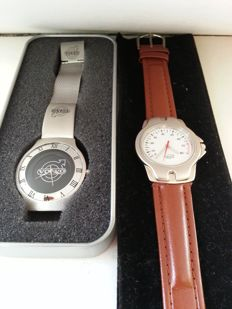 Set of 2 watches - Renault Megane - Volvo - Collector's  watches