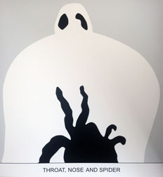John Baldessari - Sediment: Throat, Nose and Spider