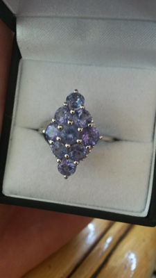 Genuine Huge carat of 3.50 AA grade Tanzanite (one source). Beautiful colour azure blue.