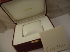 Empty Cartier box for COWA 0049 watch.