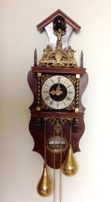 Zaandam clock – with F.H.S. movement – Period around 1972.