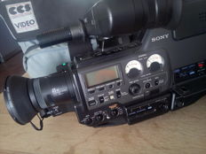 SONY CCD-V5000E in protective bag as is.