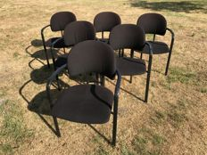 Gijs Bakker for Ten Cate Bergmans – Set of 6 chairs