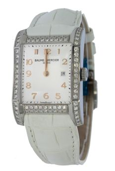 Baume & Mercier – Hampton with Diamond – M0A10025 – women's – 2011 to present day