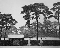 Werner Bischof (1916-1954) - 'Courtyard of the Meiji Shrine, Tokyo, Japan, 1951'
