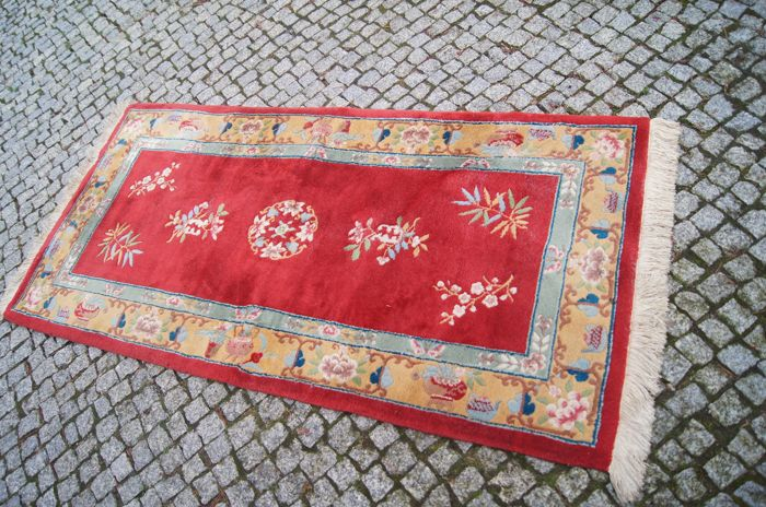Unique CHINA Rug  190x90cm -hand knotted  -