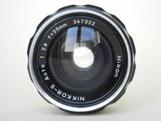 NIKKOR-S Auto 1:2.8 f=35mm n°347322
