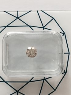 Natural Diamond, 0.47 ct, colour J, clarity SI1