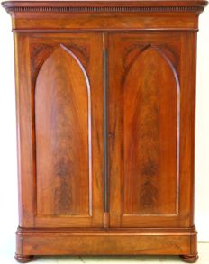 Cuba mahogany Utrecht bar cabinet - the Netherlands - ca. 1860