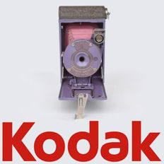 Rare purple Kodak vest pocket camera type: Rainbow Hawk-Eye 1927