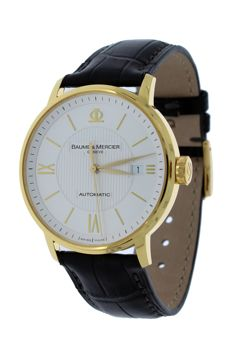 Baume & Mercier – Classima Executives automatic – yellow gold – M0A08787 – men's – 2011 to present day