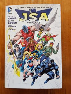 DC Comics - Justice Society Of America - Omnibus Volume 1 - Hardcover With Dust Jacket - (C) EO - (2014)