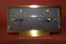 Air France clock barometer from 1971