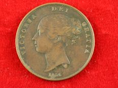 United Kingdom – Penny 1856, Victoria