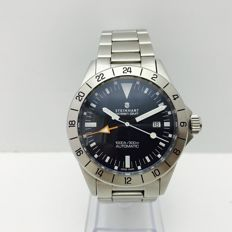 Men's Steinhart Ocean Vintage GMT contemporary wristwatch, year 2011.