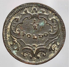 Austria – 1/2 Soldo 1739 – Hall. for Trento
