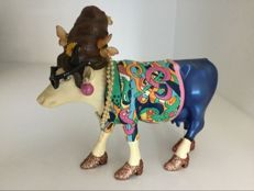 Cow Parade Cowparade - Beehive Bovine - medium - Resin - retired.