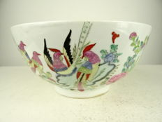 Famille rose bowl - China - circa 1960