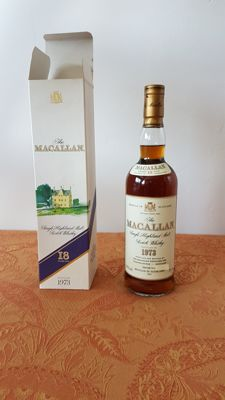 The Macallan 1973 18 years old - (Dutch) Import OB