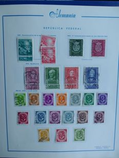 Federal Republic of Germany, 1949/1998 – Collection in two albums