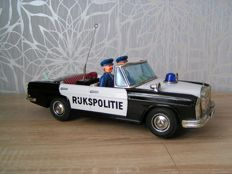 Daiya, Japan - Length 35 cm - Police car - Mercedes Benz 250s - 1960s/1970s