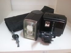 Fuji Film FPF-54 flash with a SCA-3402 adapter FOR NIKON autofocus