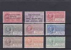 Kingdom, 1917-35 – Air Mail – stamp selection