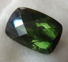 Green Tourmaline – 8.27 ct – No Reserve Price