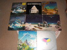 Yes & Asia lp Albums