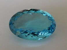Swiss Blue Topaz - 20.99 ct