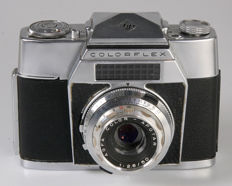 Agfa Colorflex with interchangeable viewfinder