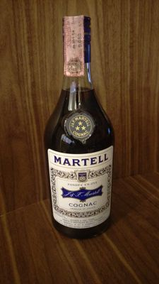 Martell 3 Star - Bottled 1960s