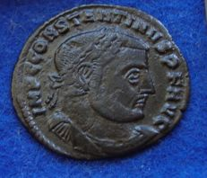 Roman Empire – AE of Constantine the Great (307-337 A.D.), struck in Cyzicus (P585).