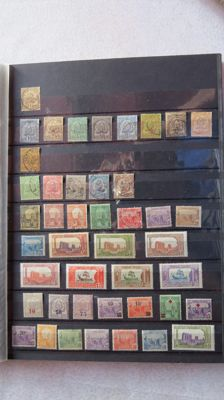 Former French colony 1888/1974 – Tunisia – Collection of stamps